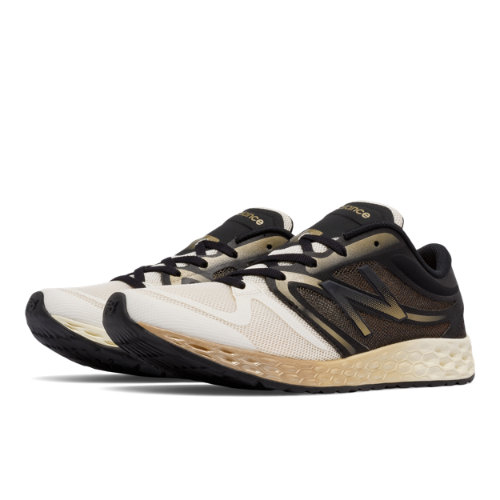 New Balance Fresh Foam 822v3 Lace Trainer Women's Cross-Training Shoes - Off White / Black (WX822SHW)