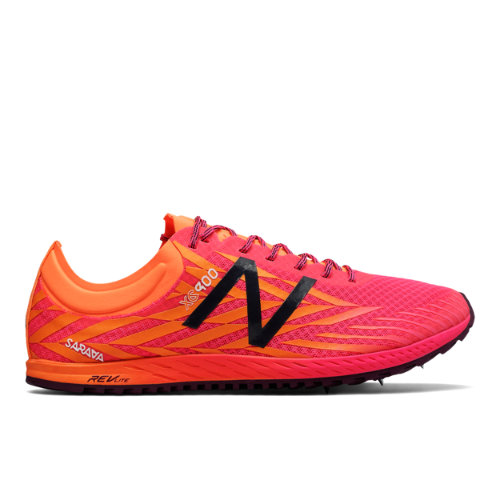 New Balance XC900v4 Spike Women's Cross Country Running Shoes - Pink / Orange (WXCS900P)