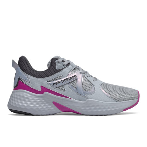 New Balance Fresh Foam Yaru Iridescent Women's Running Shoes - Grey (WYARURG)