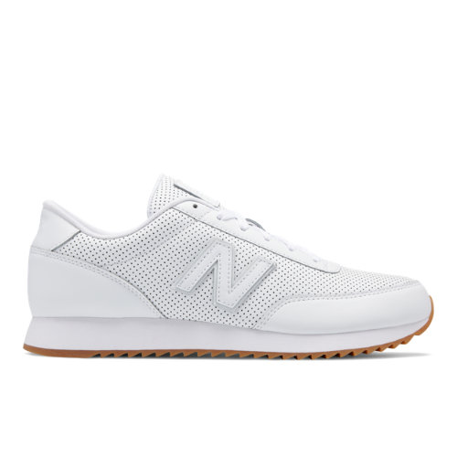New Balance 501 Ripple Sole Women's Running Classics Shoes - White (WZ501IOF)