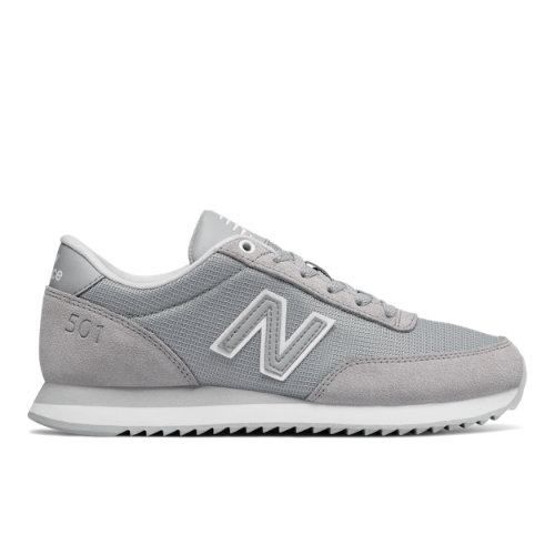 New Balance 501 Heritage Women's Running Classics Sneakers Shoes - Grey (WZ501PCE)