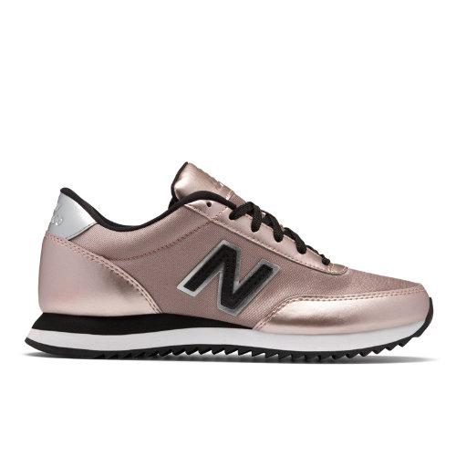 New Balance 501 Ripple Sole Women's Running Classics Shoes - Pink / Black (WZ501SFG)