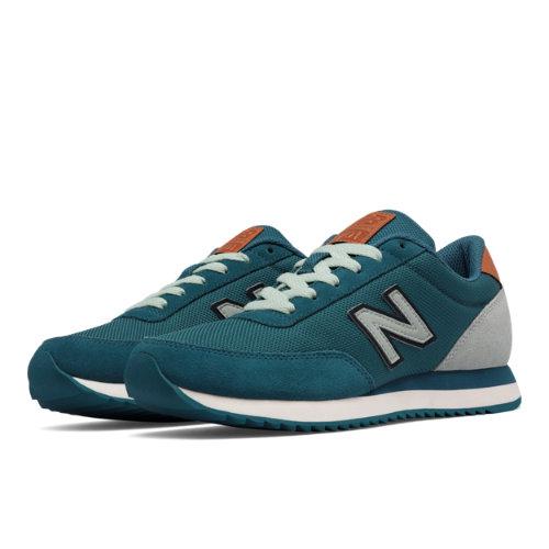 New Balance 501 Ripple Sole Women's Running Classics Shoes - Blue / Green (WZ501WXB)