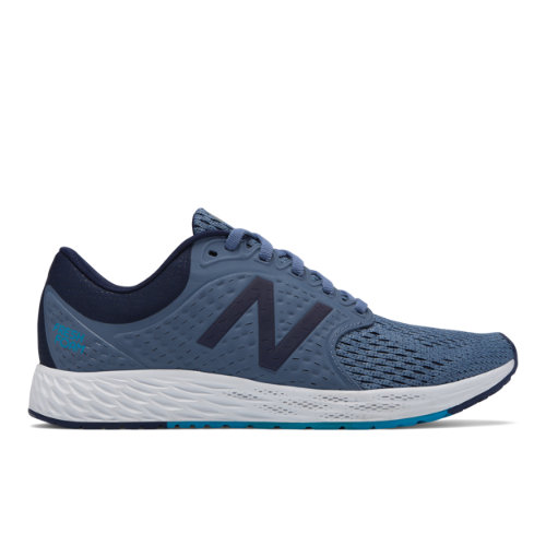 New Balance Fresh Foam Zante v4 Women's Soft and Cushioned Shoes - Dark Blue / Pigment (WZANTBB4)