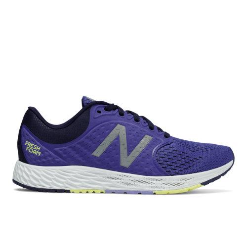 New Balance Fresh Foam Zante v4 Women's Soft and Cushioned Shoes - Blue Iris / Pigment (WZANTBI4)