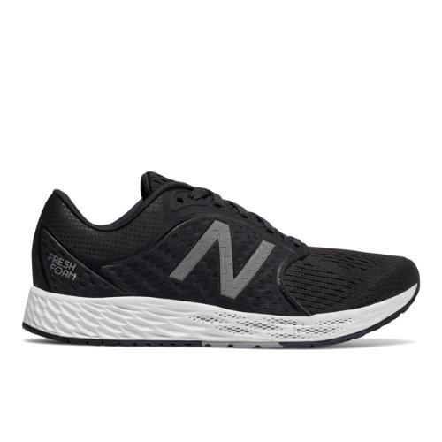 New Balance Fresh Foam Zante v4 Women's Soft and Cushioned Shoes - Black / Grey (WZANTBK4)