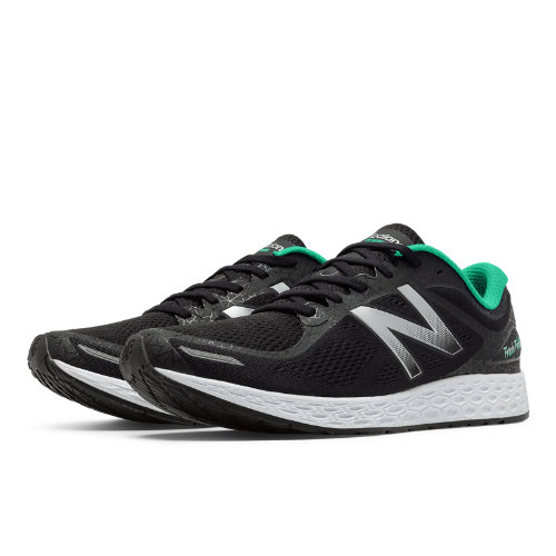 New Balance Zante v2 Bronx Women's Soft and Cushioned Shoes - Black / Silver / Green (WZANTBX2)