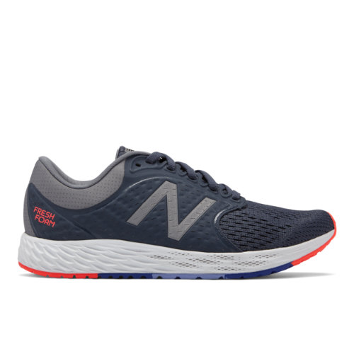 New Balance Fresh Foam Zante v4 Women's Soft and Cushioned Shoes - Navy / Grey (WZANTGW4)