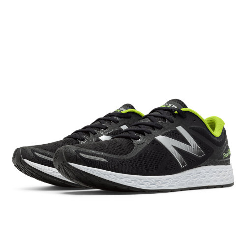 New Balance Zante v2 Manhattan Women's Soft and Cushioned Shoes - Black / Silver / Yellow (WZANTMH2)