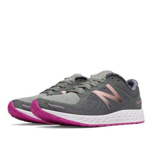 New Balance Fresh Foam Zante v2 Women's Shoes - Grey / Pink (WZANTPG2)