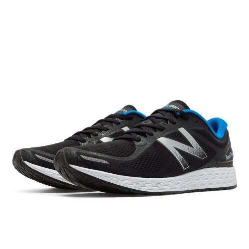 New Balance Zante v2 Staten Island Women's Soft and Cushioned Shoes - Black / Silver / Blue (WZANTSI2)