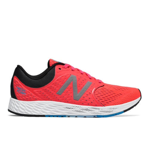 New Balance Fresh Foam Zante v4 Women's Soft and Cushioned Shoes - Vivid Coral / Black (WZANTVC4)