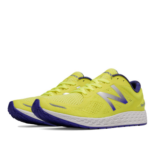 New Balance Fresh Foam Zante v2 Women's Shoes - Hi-Lite / Purple (WZANTYL2)