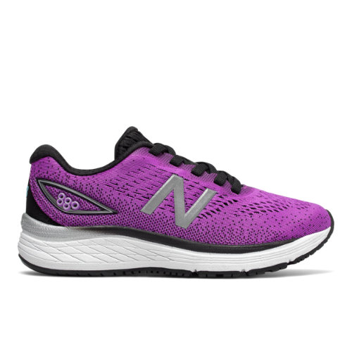 New Balance 880v9 Kids Grade School Running Shoes - Voltage Violet (YP880VV)