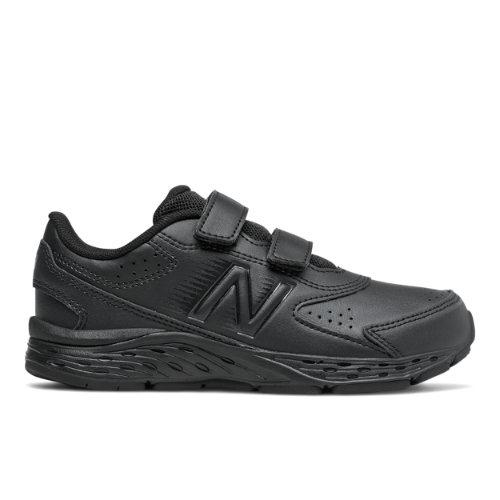 New Balance 680v6 Uniform Kids Running Shoes - Black (YU680BB)