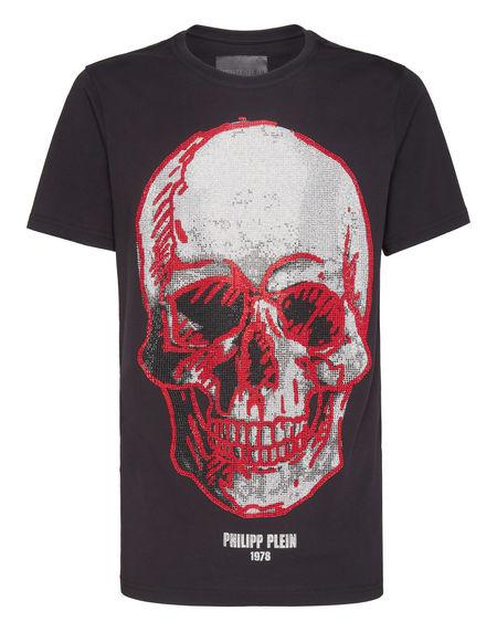 "Philipp Plein T-Shirt ""SKULL"" Men's Tops"