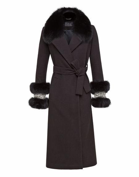 """Philipp Plein Coat """"ELEGANT"""" Women's Jackets"""
