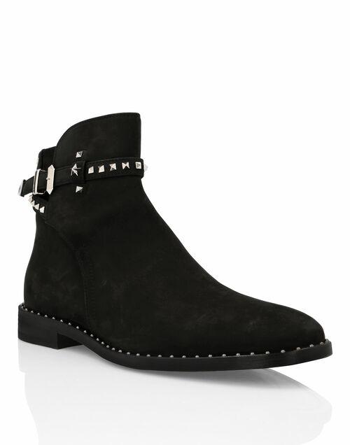 """Philipp Plein Boots """"STUDS"""" Men's Shoes"""