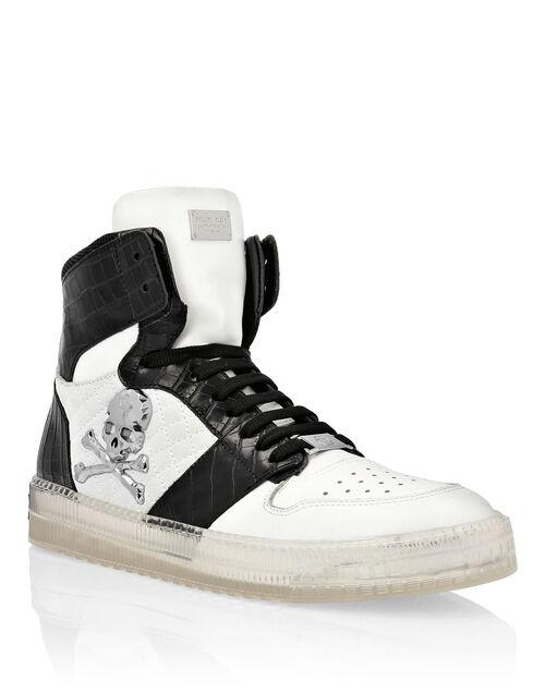 """Philipp Plein Men's Sneakers """"SKULL HIGH-TOP"""""""