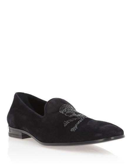 "Philipp Plein Men's Loafers ""MARTIN"" Skull Shoes"