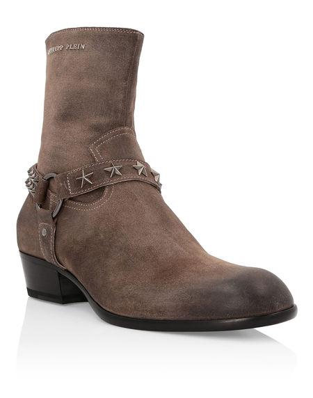 "Philipp Plein Boots ""JOHN"" Men's Shoes"
