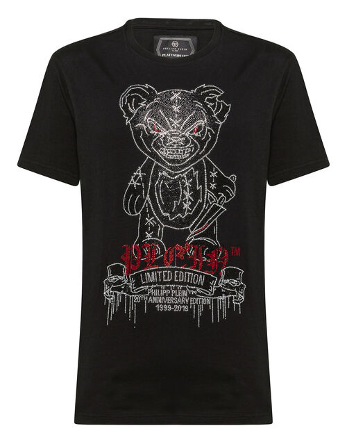 "Philipp Plein Men's T-Shirt ""MAD TEDDY"""