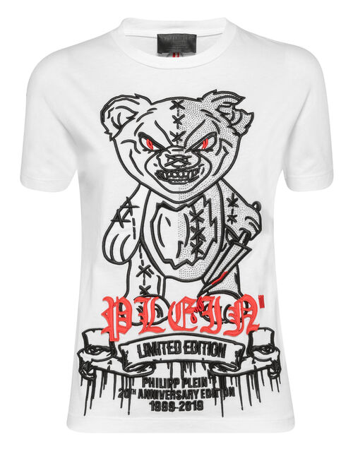"Philipp Plein Women's T-Shirt ""MAD TEDDY"""