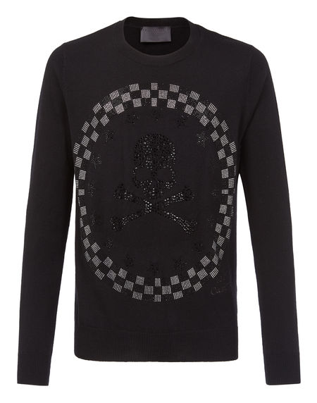 "Philipp Plein Skull Pullover ""DON`T TALK"""