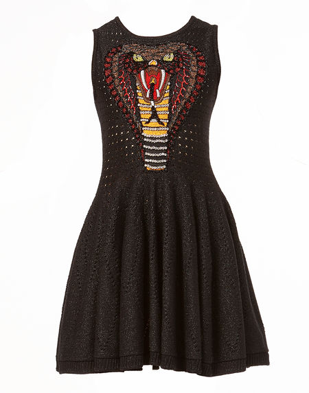 "Philipp Plein Knit Mini Dress ""FROM THE SKY"""