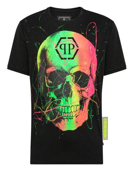 """Philipp Plein T-Shirt """"NEON SKULL"""""""