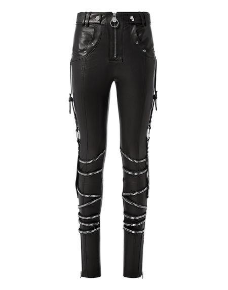 Philipp Plein Women's Leather Pants