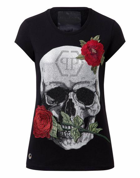 """Philipp Plein Skull T-Shirt """"JENKINS MALLORY"""""""