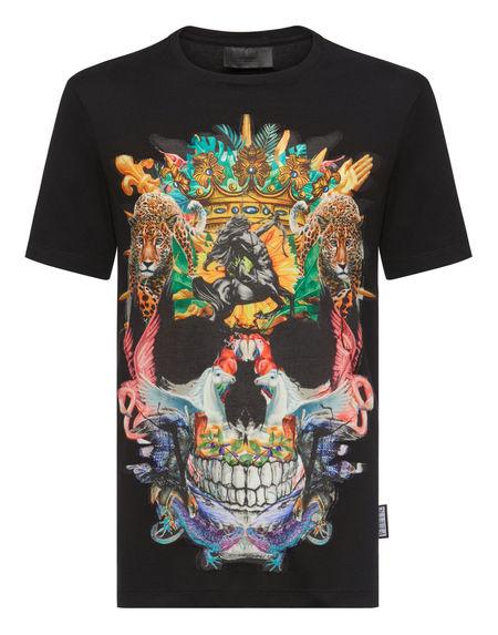 "Philipp Plein T-Shirt ""JUNGLE SKULL"""
