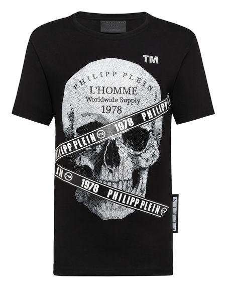"Philipp Plein T-Shirt ""SKULL TM"" Men's Tops"