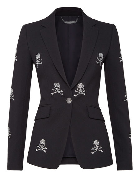"Philipp Plein Blazer Jacket ""Skulls"""