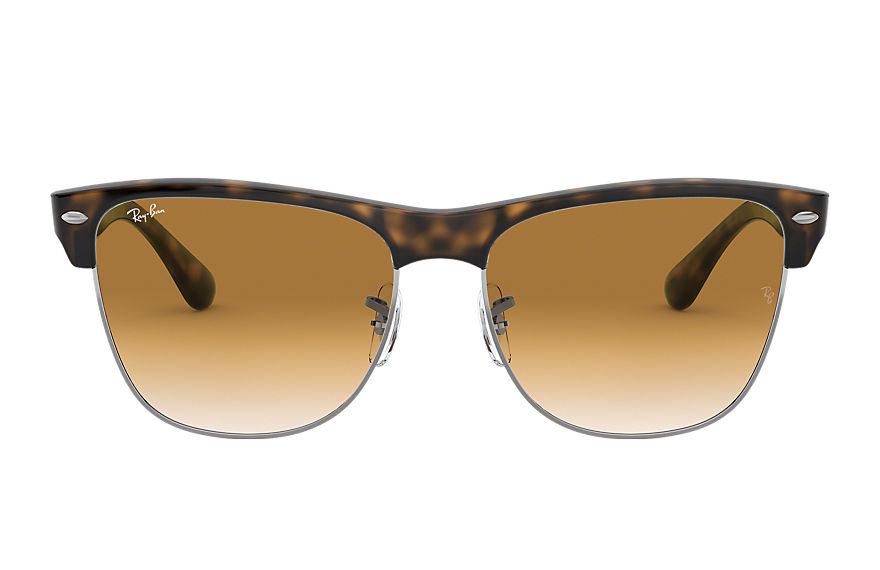 Ray-Ban Clubmaster Oversized Tortoise, Brown Lenses - RB4175