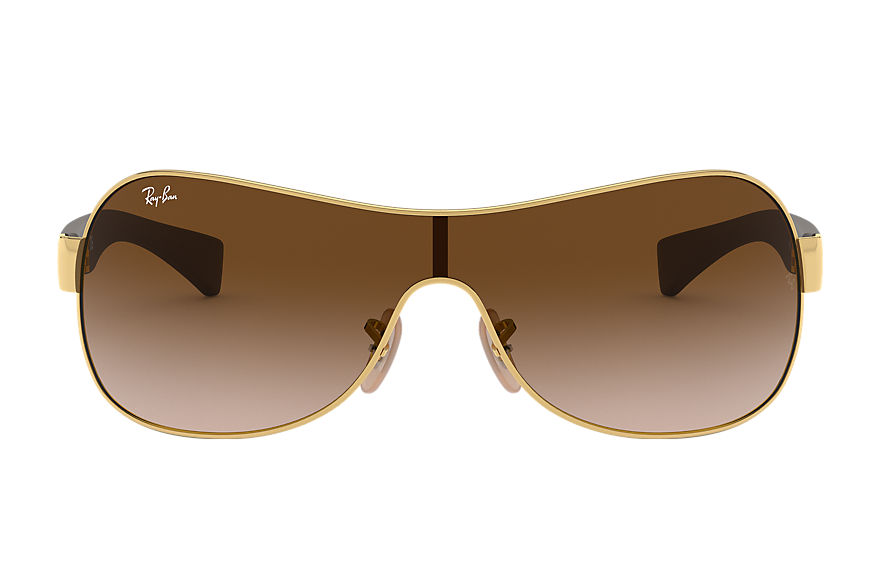 Ray-Ban Rb3471 Gold, Brown, Brown Lenses - RB3471