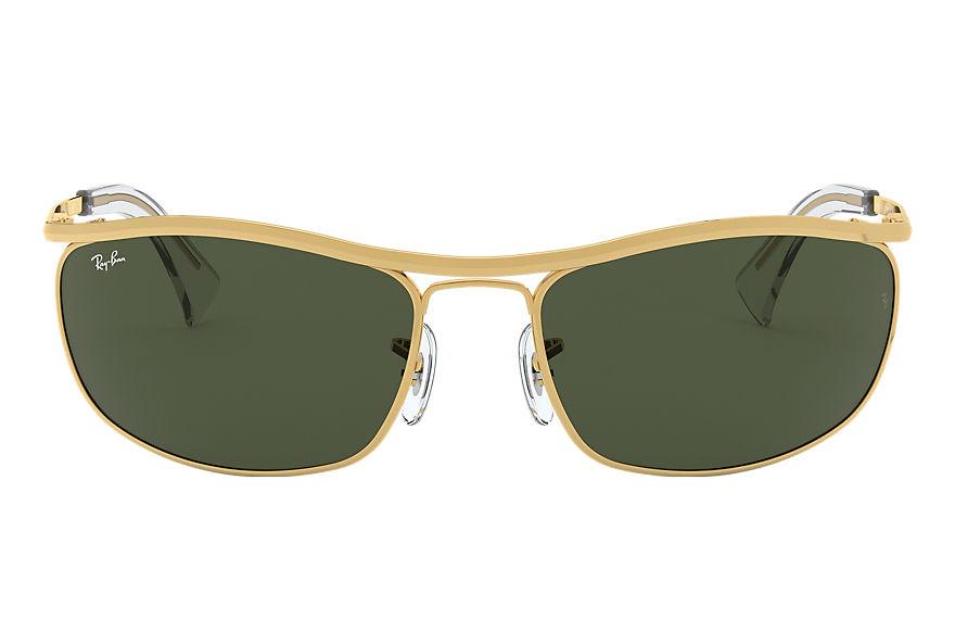 Ray-Ban Olympian Gold, Green Lenses - RB3119