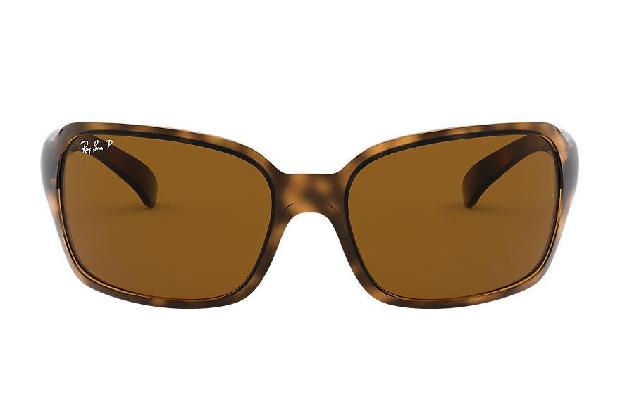 Ray-Ban Rb4068 Tortoise, Polarized Brown Lenses - RB4068