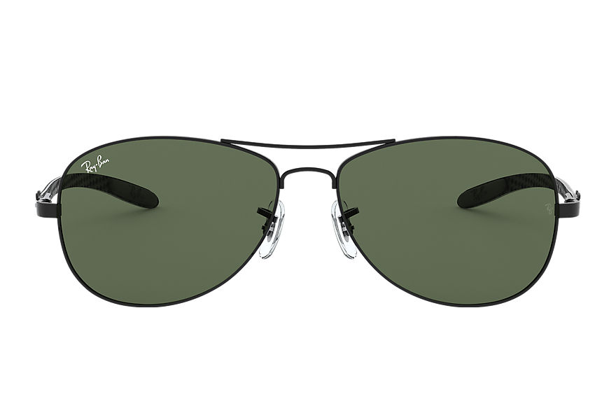 Ray-Ban Rb8301 Black, Green Lenses - RB8301