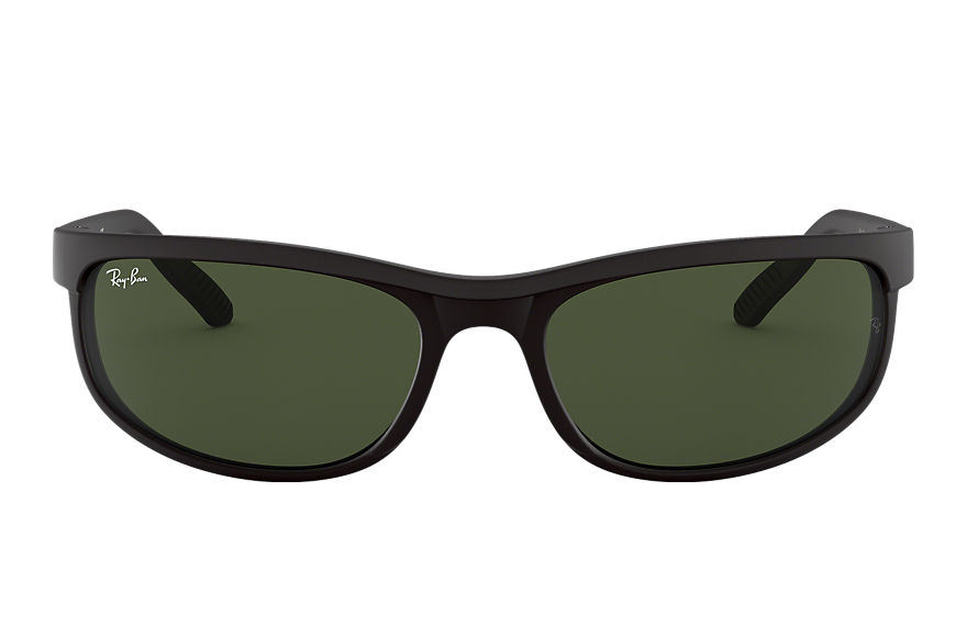 Ray-Ban Predator 2 Black, Green Lenses - RB2027