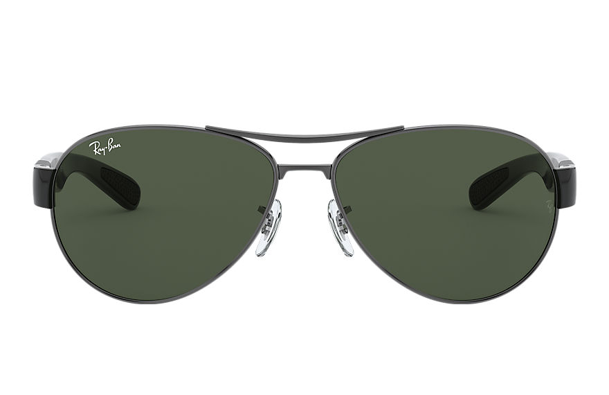 Ray-Ban Rb3509 Black, Green Lenses - RB3509