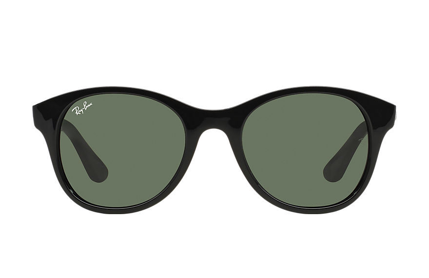 Ray-Ban Rb4203 Black, Green Lenses - RB4203