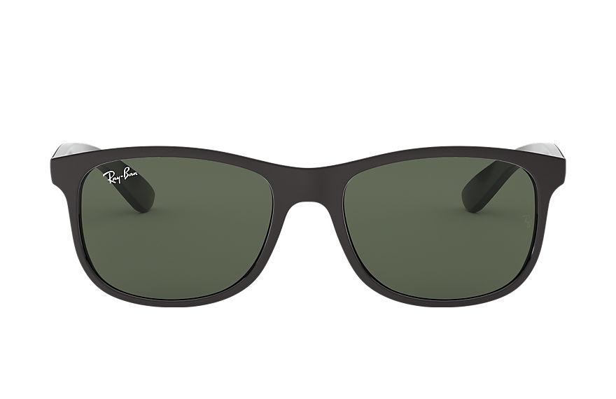 Ray-Ban Andy Black, Green Lenses - RB4202