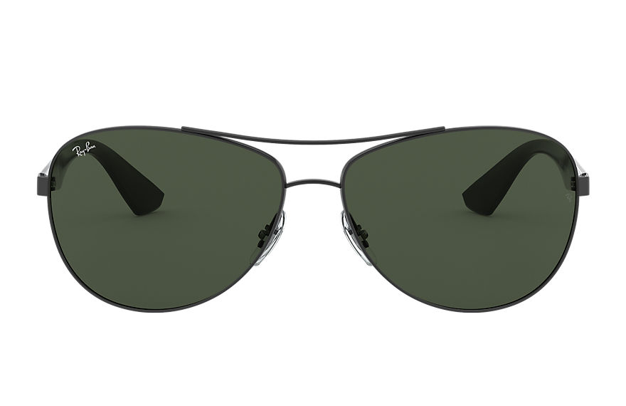 Ray-Ban Rb3526 Grey, Green Lenses - RB3526