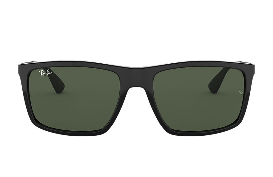 Ray-Ban Rb4228 Black, Green Lenses - RB4228