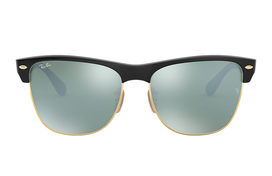 Ray-Ban Clubmaster Oversized Flash Lenses Black, Gray Lenses - RB4175