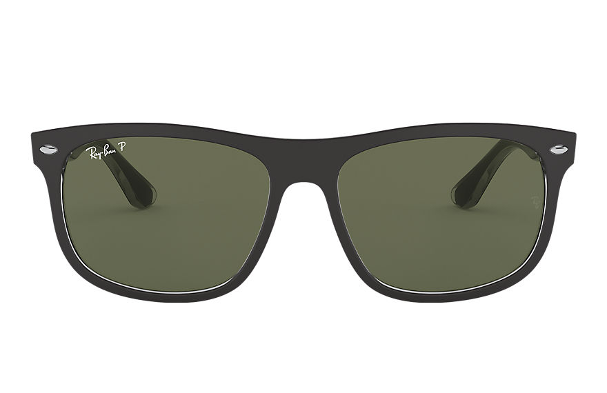 Ray-Ban Rb4226 Black, Polarized Green Lenses - RB4226