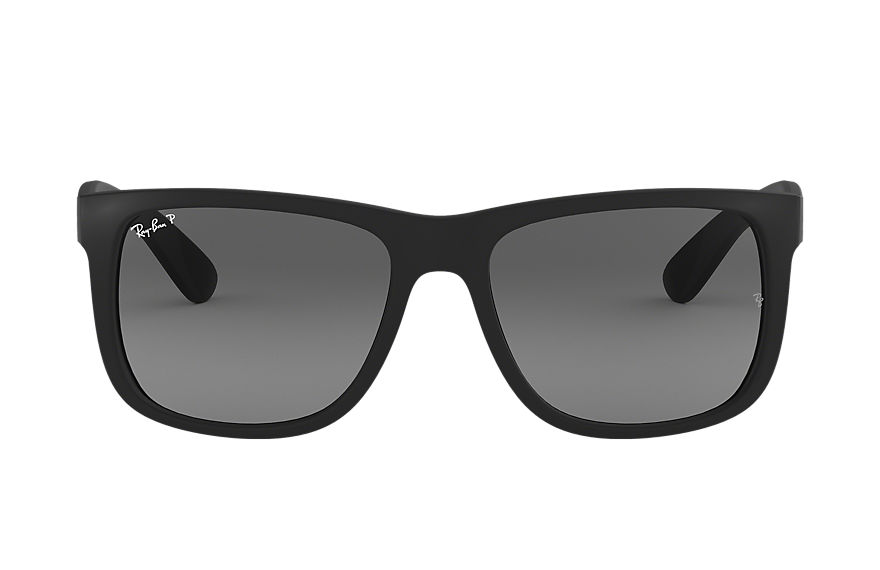 Ray-Ban Justin Classic Black, Polarized Gray Lenses - RB4165