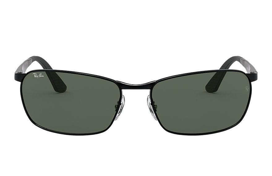 Ray-Ban Rb3534 Black, Green Lenses - RB3534